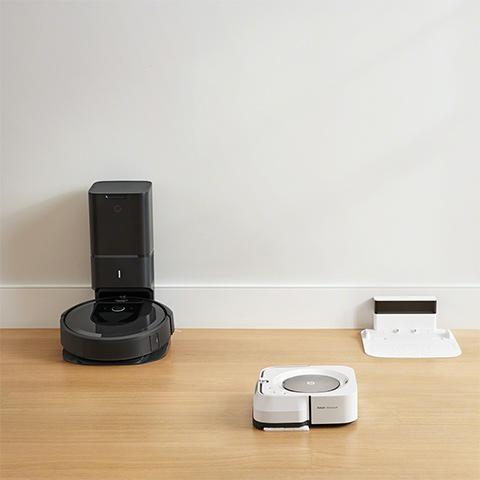 お掃除ロボットルンバと床拭きロボットブラーバ|アイロボット